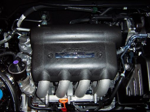 Honda Fit Engine Bay