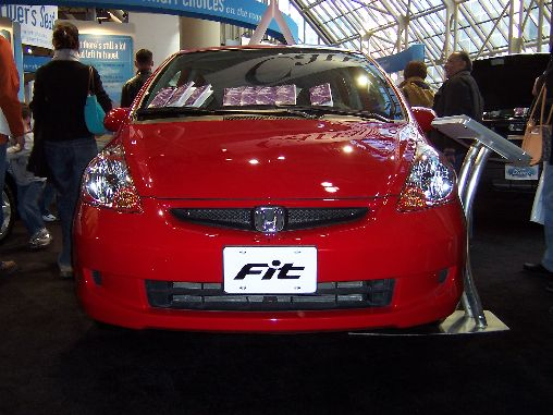 Honda Fit Front Shot