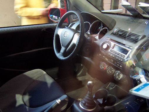 Honda Fit Interior