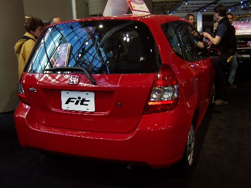 Honda Fit Rear Shot